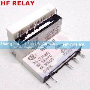 Image 3 - HF relay HF41F 24 ZS HF41F 12 ZS HF41F 5 ZS (555) 6A 1CO HF41F 5V 12V 24V Wafer relay new and original