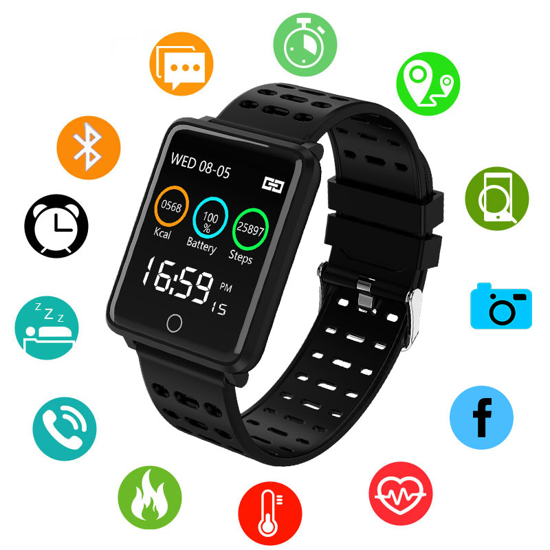 Bluetooth Smart Watch Mens Women Waterproof Bracelet Band Fitness Tracker Wristband Pedometer Sports Smartwatch For Ios AndroidBluetooth Smart Watch Mens Women Waterproof Bracelet Band Fitness Tracker Wristband Pedometer Sports Smartwatch For Ios Android
