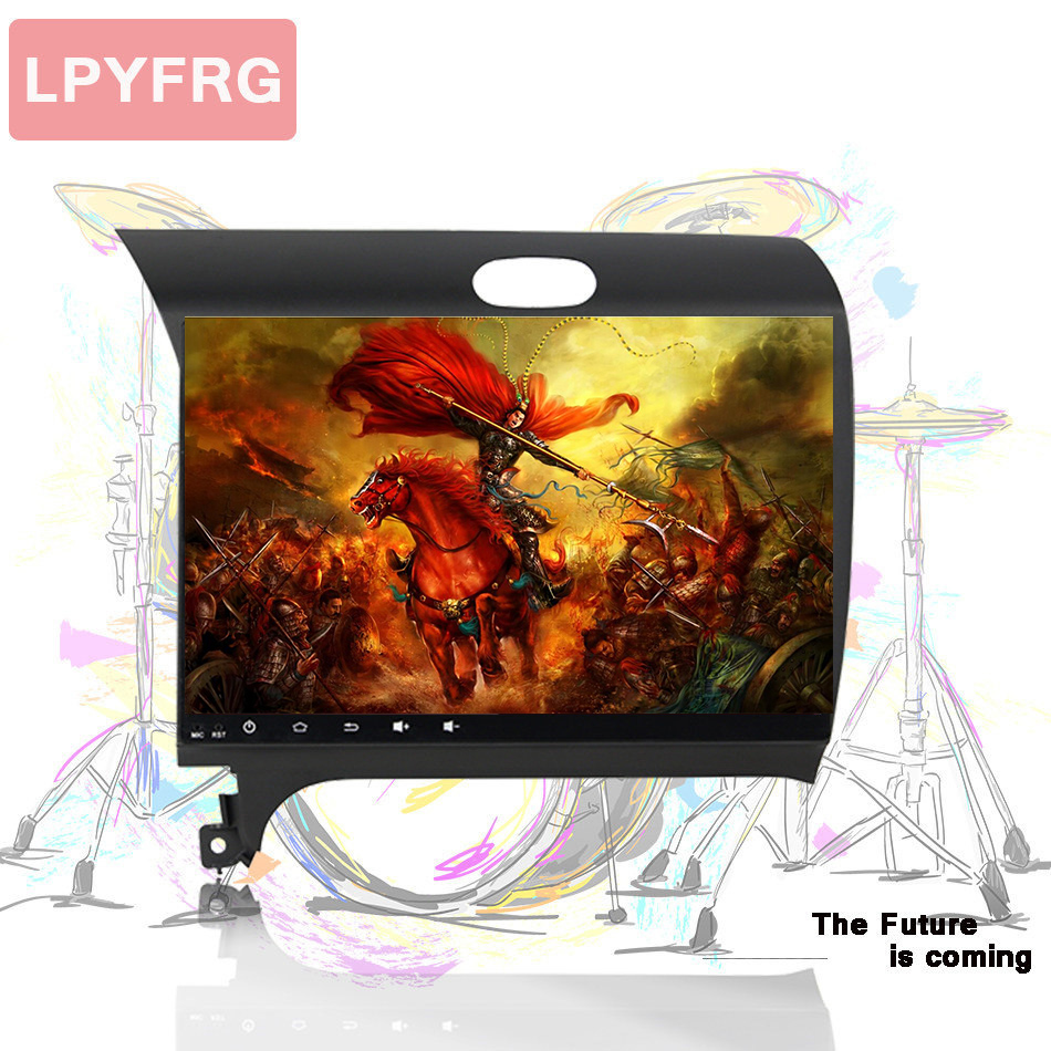 Factory sell Octa core Android 10.0 Car music video audio stereo gps Navi media unit For Kia Cerato K3 Forte 2012 pc tablet dab