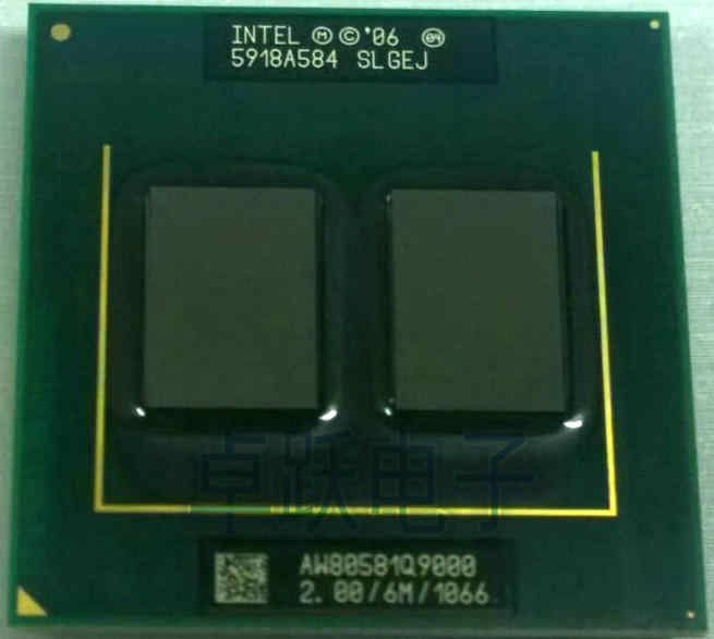 Procesador Intel CPU Original, portátil Intel Q9000 2,0 GHz 6MB 1066MHz quad core PGA478 para GM45 PM45 q9100