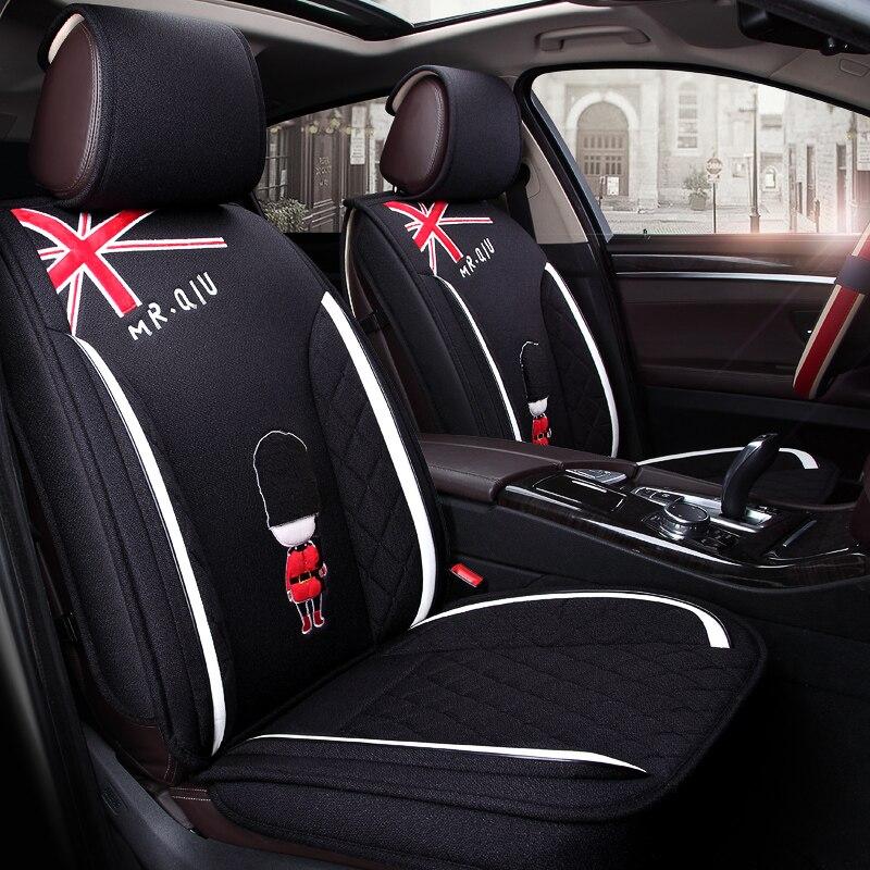 car covers car-covers чехлы для авто car-styling car styling чехлы на сиденья автомобиля сиденье сидений автомобильная для ford Новая Fiesta MK7 седан край Эверест ...