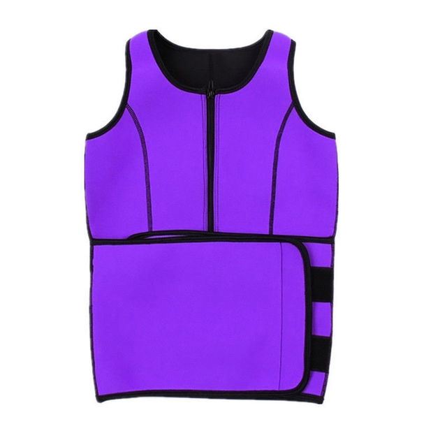 Sport Tank Tops Vest Neoprene Sauna Waist Trainer Vest Hot Shapers Shaperwear Slimming Adjustable Sweat Belt Body Waist Shapers 5