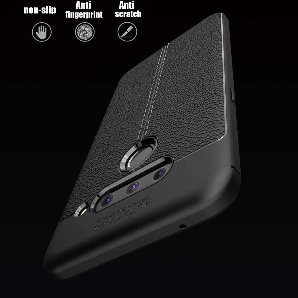 Для LG V50 случае V40 V30s V30 G8 ThinQ крышка G8s G7 G6 Q6 Q7 K9 Q Stylus Stylo 4 анти-шок Мягкий силиконовый чехол телефон Капа coque