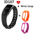 Hongsund ID107 SmartBand Bluetooth 4.0 Smart Bracelet With Tracker Android Xiaomi Mi Band Bracelet With Heart Rate Monitor PK 2