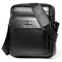 Luxury Brand Business Messenger Bag Men Leather Crossbody Bags For Men Shoulder Bags Male Black Brown Casual Sling Bag For IPAD etonweag men fashion pu leather messenger business handbag famous brand crossbody bag casual male sling bag shoulder travel bags