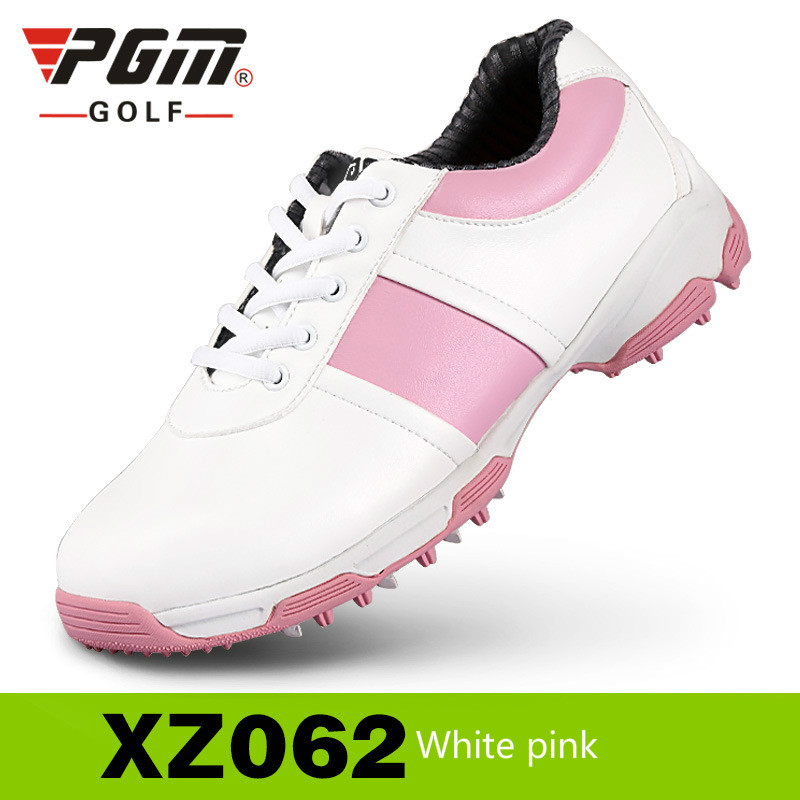 2018 PGM New Womens Genuine Leather Golf Shoes Without Spikes Ultra Soft Breathable Waterproof Antiskid Shoes2018 PGM New Womens Genuine Leather Golf Shoes Without Spikes Ultra Soft Breathable Waterproof Antiskid Shoes