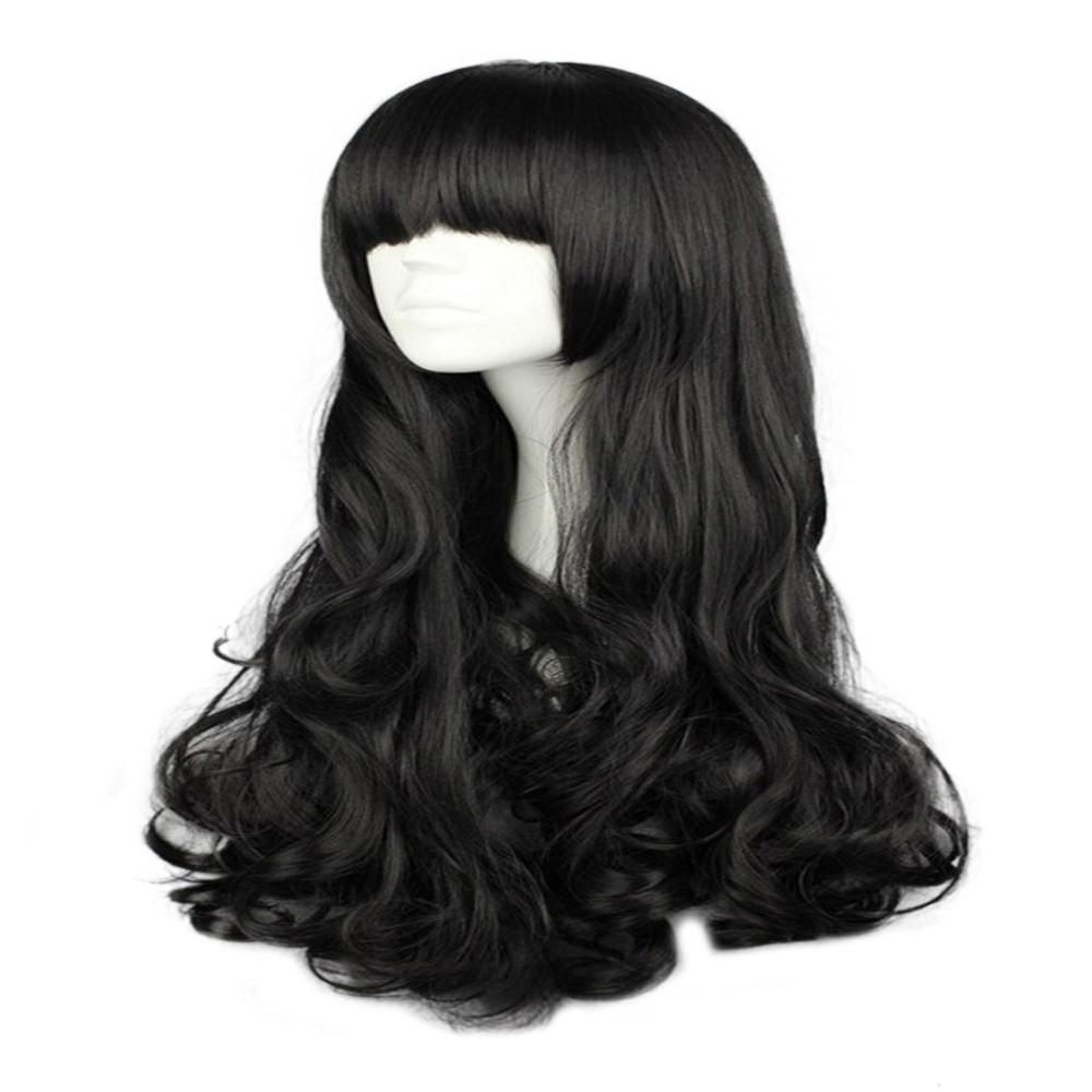 HAIRJOY Synthetic Hair Cosplay Wig  Long Wavy Wigs 4 Colors Available Free Shipping 2
