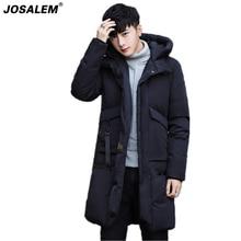 JOSALEM -25 Degree Temperature Thick Warm Men Long Parka Coat 2017 New Casual Winter Jacket Man Overcoat Male Outerwear