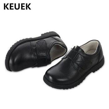 Nuevos Zapatos De Cuero Para Niños Mocasines De Cuero