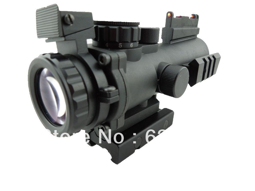 Тактичний 4х32 подвійний освітлений - Полювання - фото 4