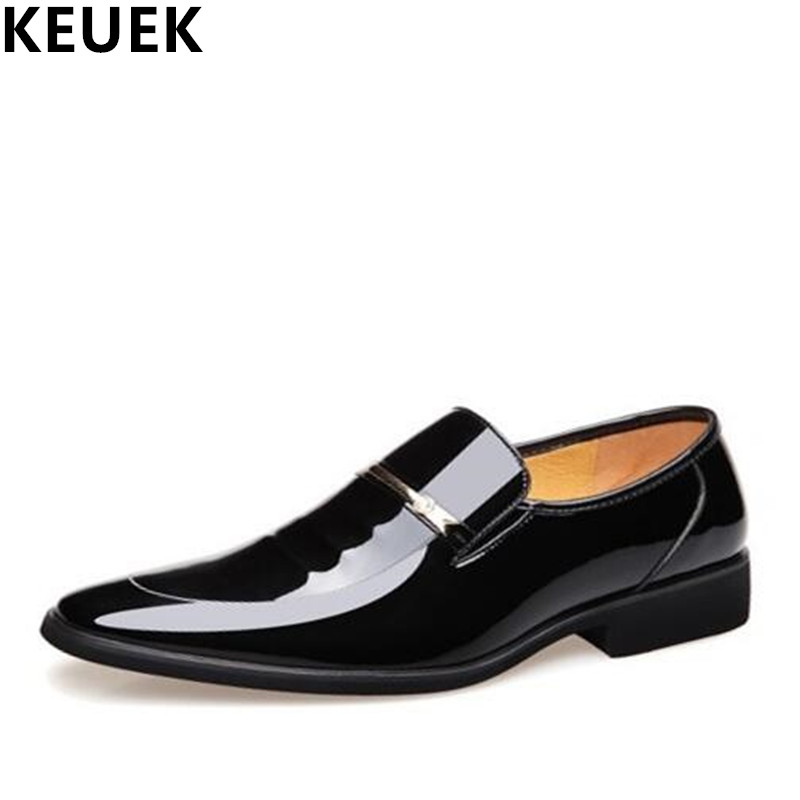 Autumn Men Casual Office Dress shoes Fashion Pointed Toe Slip-On Flats Male Oxford shoes Casual leather shoes 021Autumn Men Casual Office Dress shoes Fashion Pointed Toe Slip-On Flats Male Oxford shoes Casual leather shoes 021