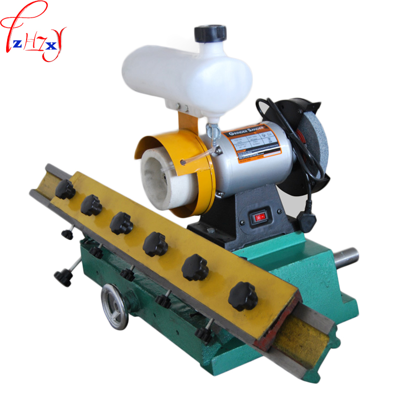 Bench straight edge grinder machine MF206 straight blade woodworking knife sharpening machine 220V 0.56KW