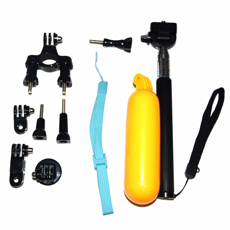 For Gopro palo selfie stick monopod tripod with float bobber for action camera sj5000 xiaomi yi For Gopro HD sj4000 accessories