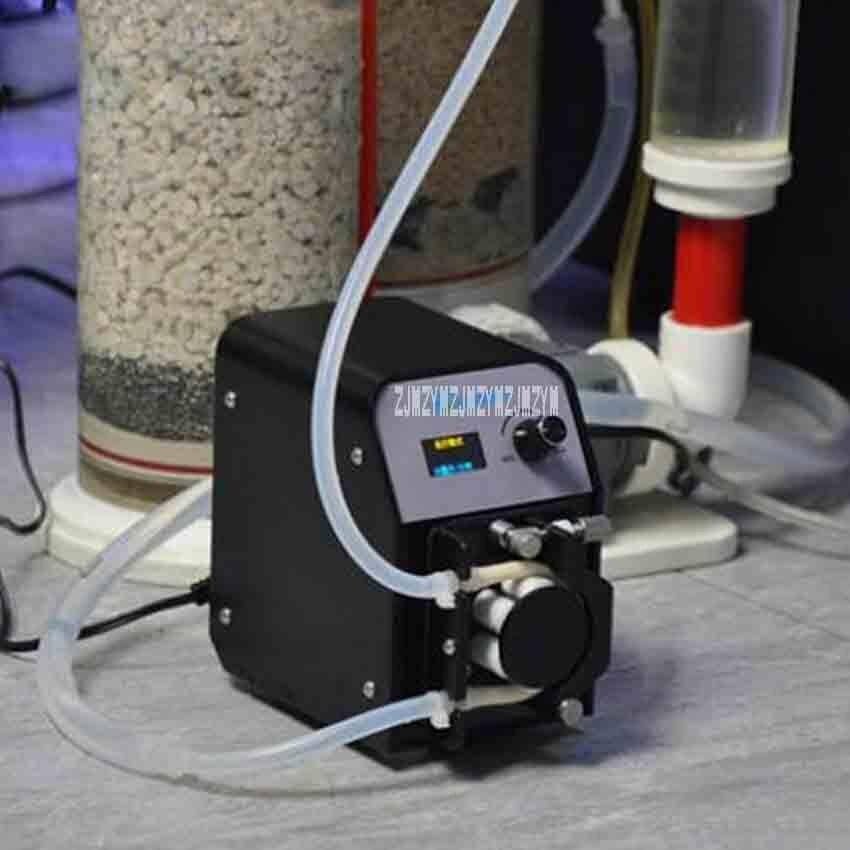 FX STP Портативный мини умный перистальтический насос автоматическая самовсасывающий насос лаборатории 24 В тихим жидкость разделения насос