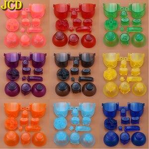 Image 4 - Jcd フルセット l r abxy z キーパッドのボタンと 3D サムスティックキャップキューブ用 ngc d パッド電源 on off ボタン