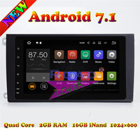 TOPNAVI 2G 16GB Android 7 1 Car PC Media Center Player Video For Porsche Cayenne Stereo