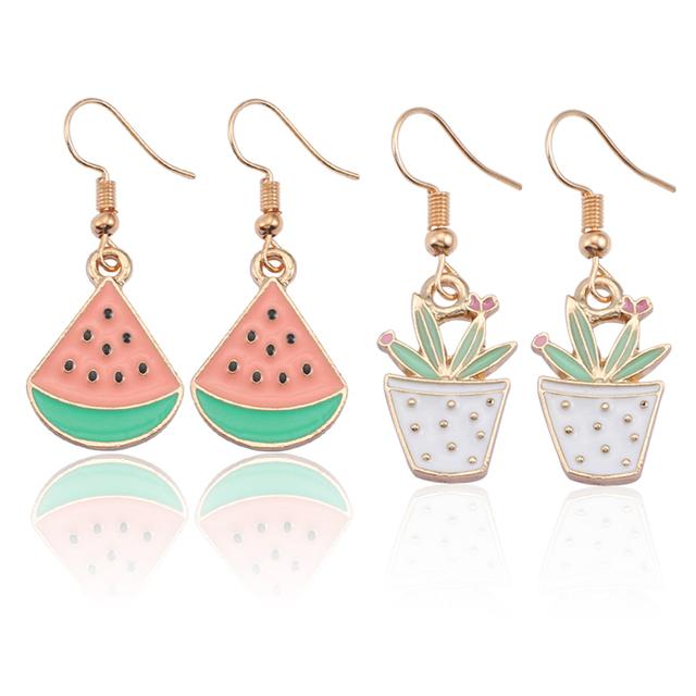 Kawaii Zinc Alloy Earrings