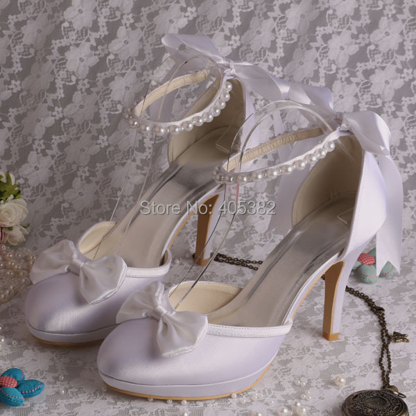 (20 Colors)2016 New White Color Women High Heels Bridal Wedding Shoes 2014