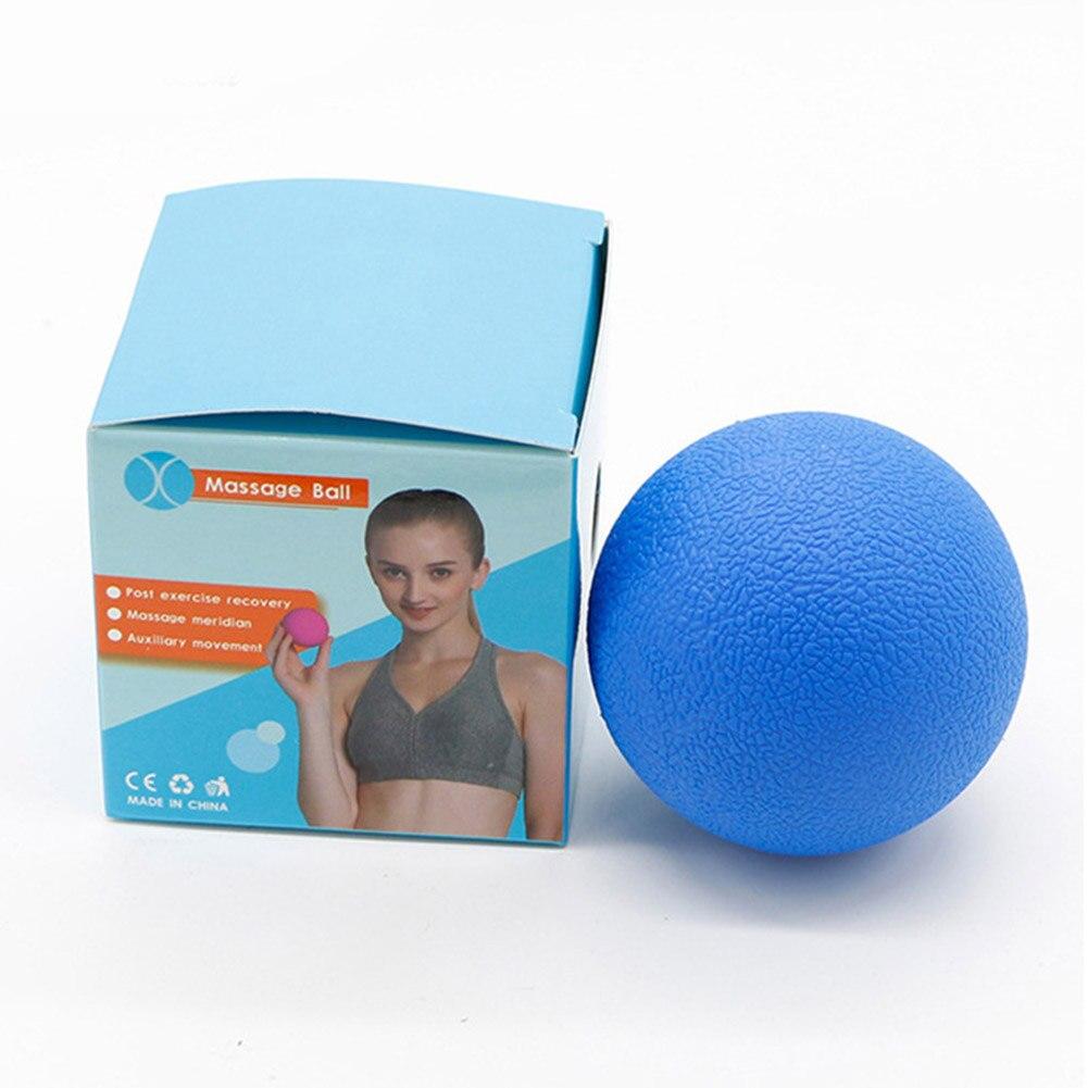 ✔  8 цветов Фитнес-Массажный Мяч Терапия Триггер Полное Упражнение Для Тела Спорт Йога Мячи Relax Relio ✔