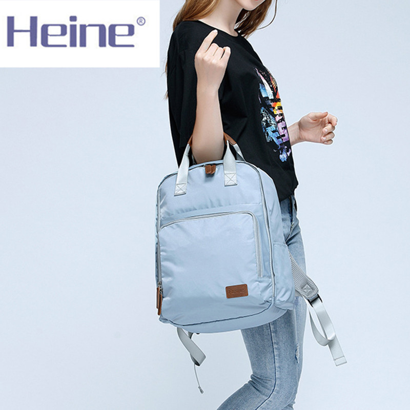 Heine Mummy Maternity Nappy Bag Disape Bag Brand Large Capacity Baby Bag Travel Backpack Designer Nursing Bag quelle heine 140868