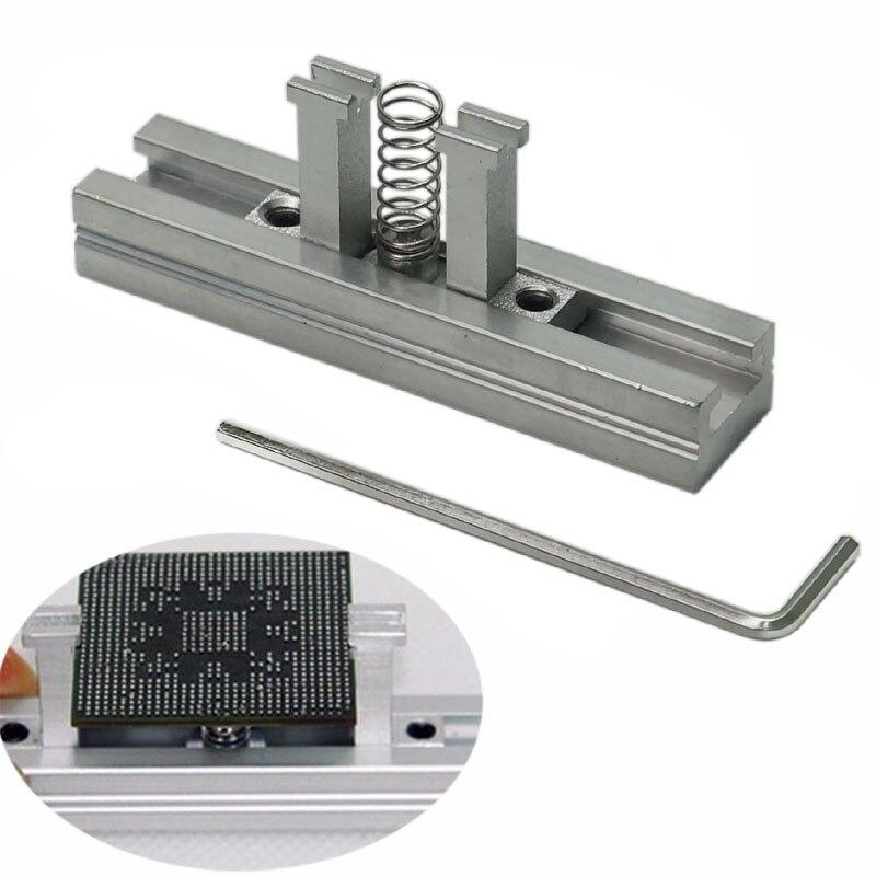 Купить с кэшбэком Directly Heating BGA Reballing Station Stencils Holder Template Holder Heated Fixture Jig