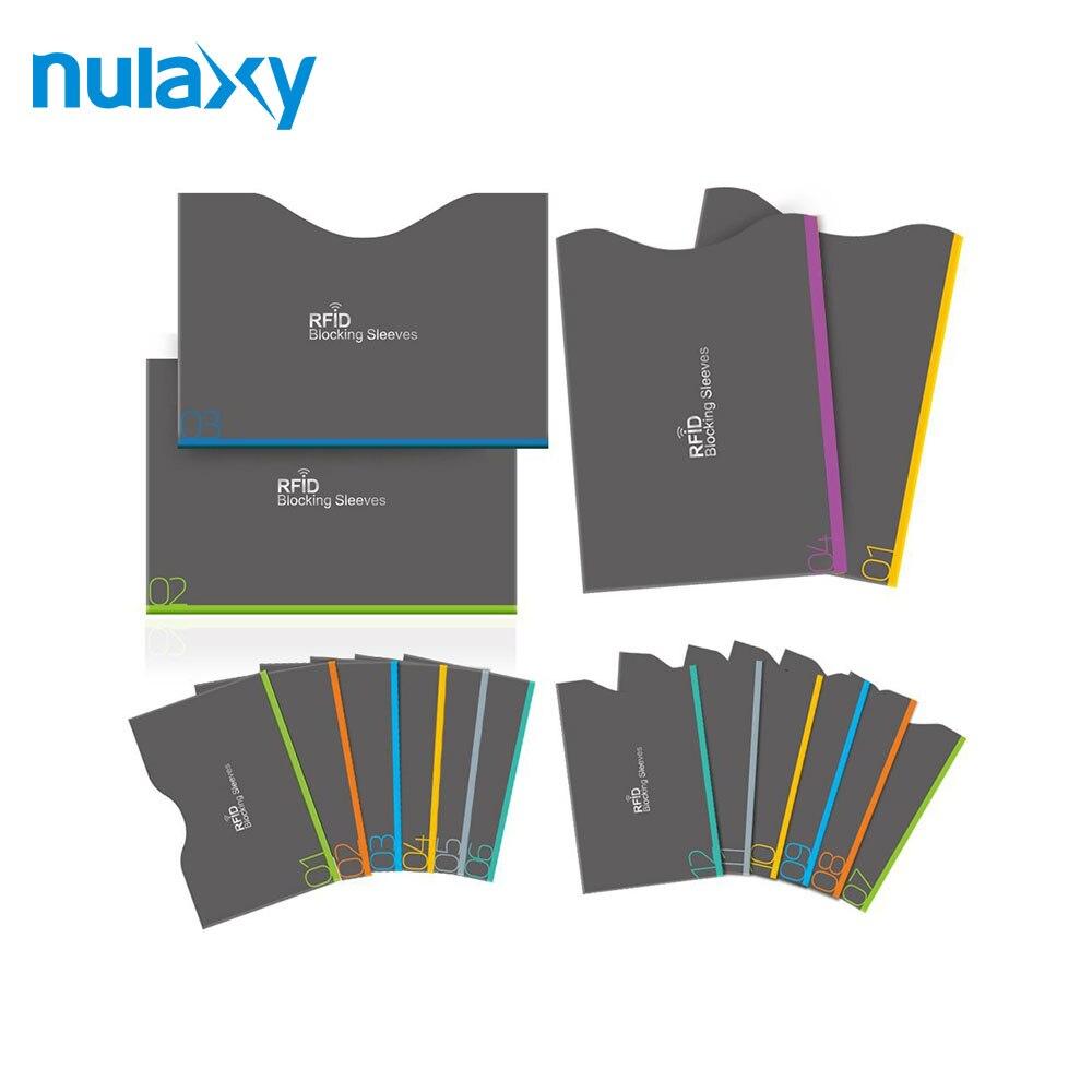 Nulaxy 16 шт./компл. RFID Блокировка рукава Anti Theft RFID карта протектор RFID Блокировка рукавом Защита конфиденциальных данных ...