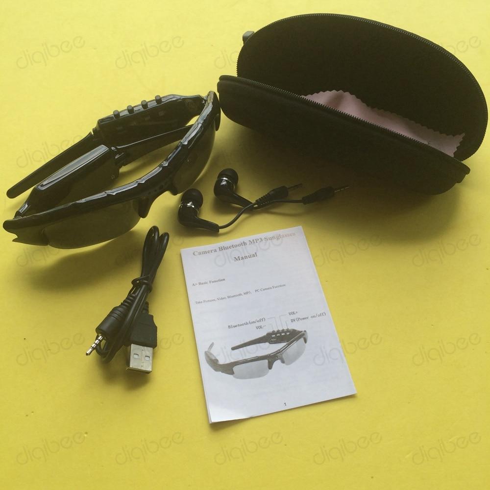 Mikrofonlu eynək kamerası ilə çox funksiyalı MP3 Bluetooth - Kamera və foto - Fotoqrafiya 5