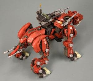 Image 2 - Bt 1/72ゾイドサーベルタイガーガンダム組み立てモデルアニメアクションフィギュアのおもちゃ組立誕生日クリスマスギフト