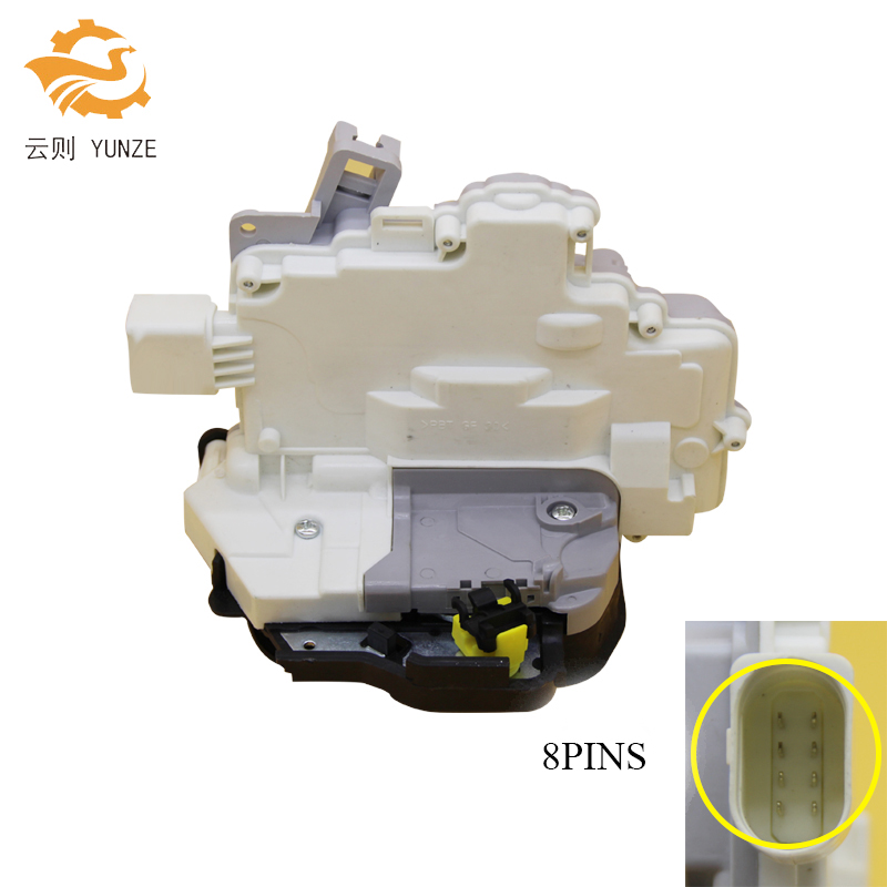 OE 4F0839015A 8E0839015AA REAR LEFT SIDE CENTRAL DOOR LOCK LATCH ACTUATOR MECHANISM FIT FOR AUDI A3