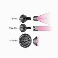 Smooth /Moulding /Diffusion Hair Dryer Nozzle 3pcs/set for Dyson Supersonic hair dryer to break thermo blow Nozzle Accessories
