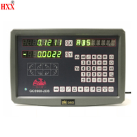 hxx high precision instruments tool 2 axis dro digital display/screen GCS900 2DB for lathe/machines machines with one piece