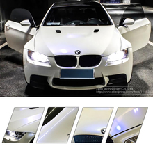 152*30 CM Vinyl Car Motorcycle Wrapping Foil, Chameleon Stickers Car Styling Waterproof White Gradual Change Blue/Gold