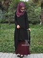 2017 Халат Мусульманского Исламская Одежда Для Женщин Djellaba Горячие Продажи Топ Взрослых Полиэстер Формальное Ни Турецко-Мусульманского Абая