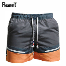 Men s Quick dry Breathable Casual Shorts Men Summer Beach Board Shorts Man Fitness Bodybuilding Workout