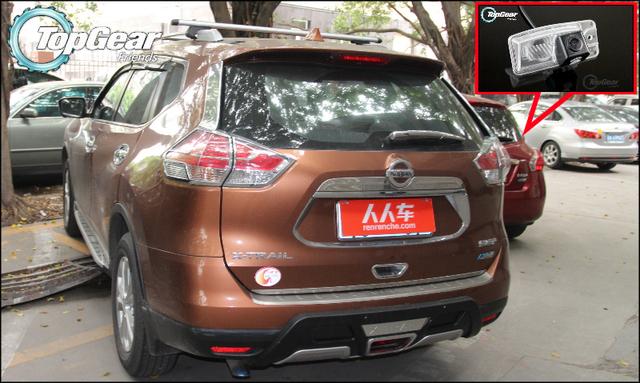 Câmera do carro Para Nissan New X-Trail X Trail 2013 ~ 2015 de Alta Qualidade câmera de Visão Traseira Fãs de volta Até Câmera Para Top Gear para Uso | CCD + RCA