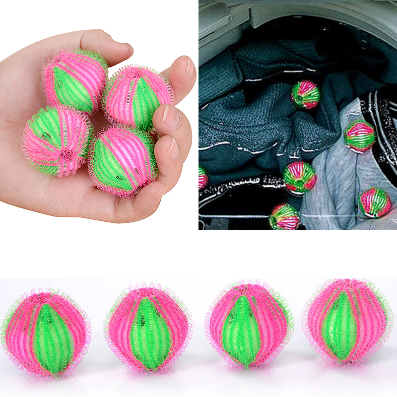 1/6PCS Fashion Hair Removal Laundry Ball Clothes Personal Care Hair Ball Washing Machine Cleaning Ball Tool Supply 3.5cm