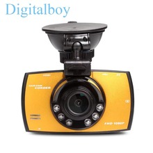 Auto Dvrs Kamera Recorder Mit 16G Karte Novatek 96220 2,7 Zoll 140 Grad 1080 P Video Registrator Camcorder Dash Cam