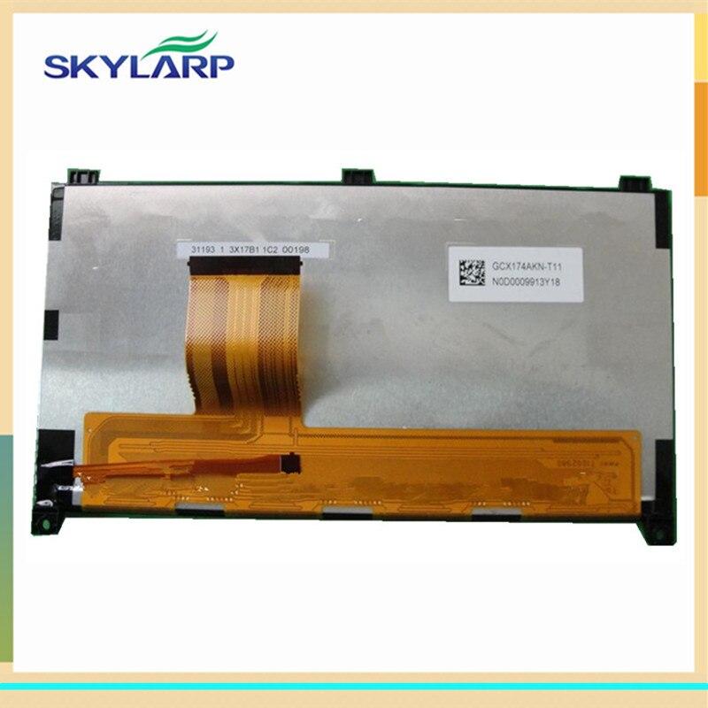 skylarpu GPS LCD screen display panel for GCX174AKN GCX174AKN-T02 GCX174AKN-T03 GCX174AKN-T016
