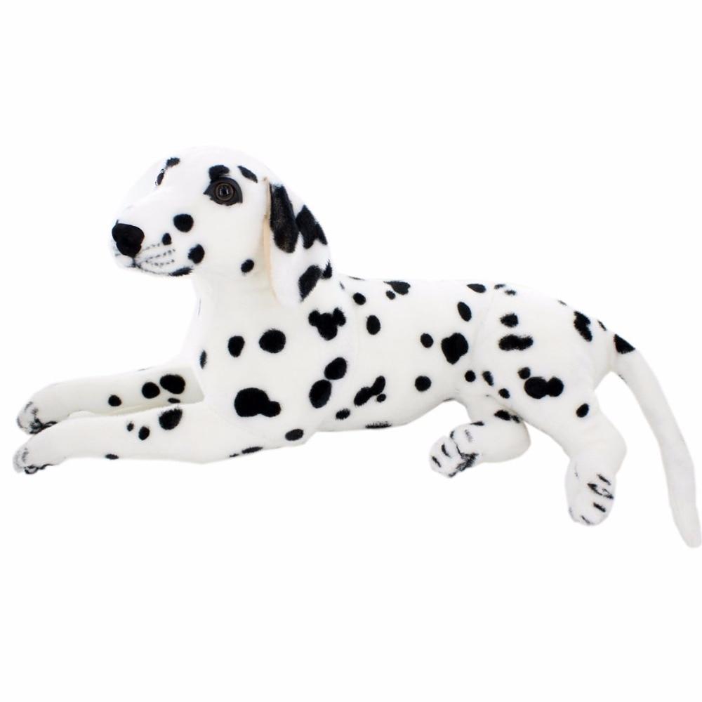 JESONN Realistic Töltött Állatok Dalmát Plüss Játékok Gyermek születésnapi ajándékok
