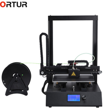 Upgrade Resume Print Auto Leveling Semi Assembly Kit Ortur All Linear Guide Rail High Speed 3D Printer With 10M/1KG PLA Filament все цены