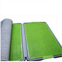 Durable Pet Pee Dog Toilets Grass Pad Clean Dogs Poop Puppie Toile Trays Caca De Perro Utensil Chien Ramasseur Pets Tool 90Z1904