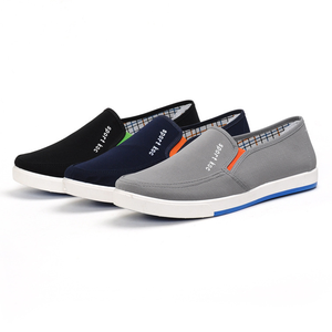 Four-Seasons Shoes Vulcanize-Sneakers Platform Canvas Design Breathable Man Brand Office-Drive