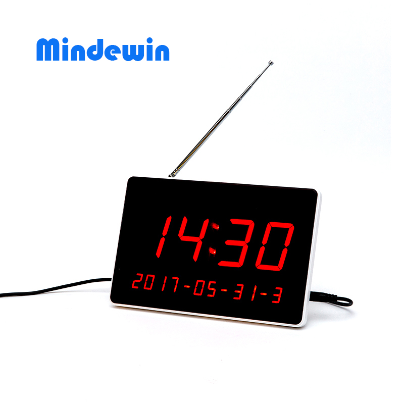 MDW Guest Pager System Receiver LED Display Coaster Pagers Wireless Calling Customer Display System Restaurants Equipments 2 receivers 60 buzzers wireless restaurant buzzer caller table call calling button waiter pager system