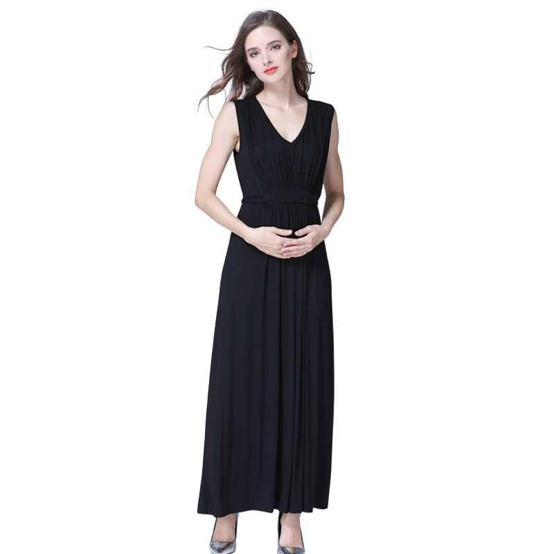 3f0ff3aea33 Emotion Moms Long Party Evening Dresses Maternity Clothes Maternity Nursing  Breastfeeding pregnancy Dresses for Pregnant Women