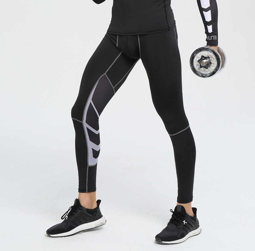Mma Menjalankan Stoking Pria Jogging Sport Legging GYM Fitness Celana Kompresi Celana Pendek Muay Thai Latihan Boxe