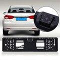 170 Градусов HD Автомобиль Рамка Номерного знака LED Авто Автомобиль Обращая Камеры Заднего вида CCD Висит Тип Парковочная Система