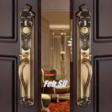 BRASS MATERIAL VILLA LOCK ENTRANCE DOOR FOR DOUBLE OPENING EXPORTED QUALITY