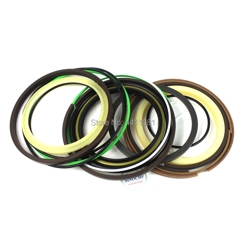 For Komatsu PC220-1 Arm Cylinder Repair Seal Kit Excavator Gasket, 3 months warranty for komatsu pc130 6k arm cylinder repair seal kit excavator gasket 3 months warranty