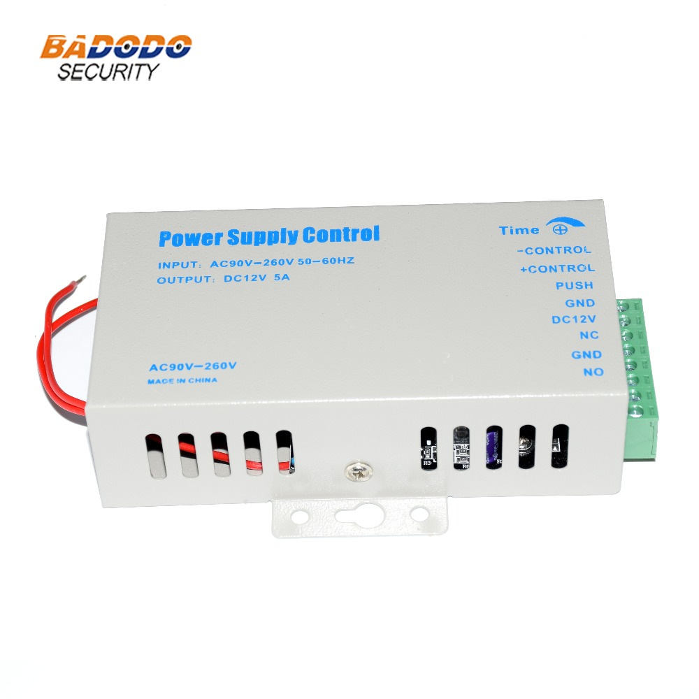 Access Control Switching Power Supply Door Rfid Fingerprint Access Control System Machine Dc 12v 3a 5a Ac 90~260v High Quality To Clear Out Annoyance And Quench Thirst
