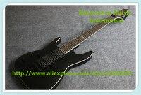 Новое поступление глянцевый черный левша 7 Строка Suneye гитары Электрический Китай Custom Shop для продажи